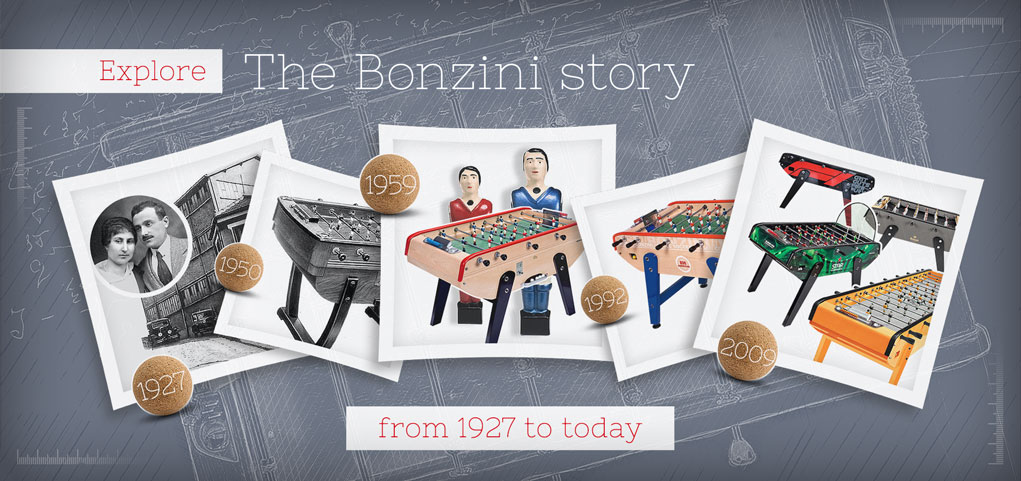 Explore The Bonzini story from 1927 to today