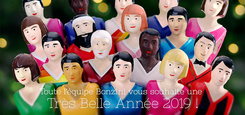 Toute l'Équipe Bonzini vous souhaite une très Belle Année 2019 !
