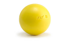Plastic ball Official ITSF