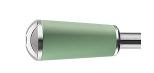 Poignée longue, vert pastel, bi-matière